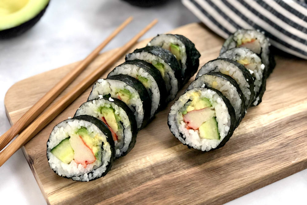 Parassita Anisakis -Sushi